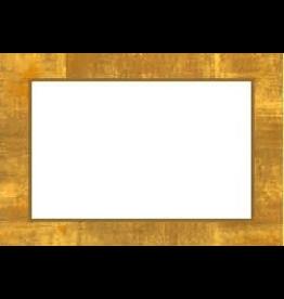 Caspari Table Place Cards 10pk Gold Leaf Border 70909P