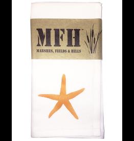 MFH Cotton Cloth Napkin-20x20 w Starfish