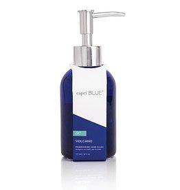 capri BLUE Volcano Hand Wash 6 Oz Glass Bottle W Pump Dispenser