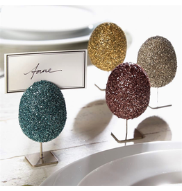 Mud Pie Easter Egg Place Card Holders Set of 4