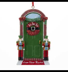 Kurt Adler Our New Home Christmas Ornament w Nutcrakers