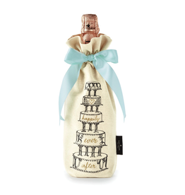 Kate Spade New York Wine Tote Wedding Cake w Happily Ever After   Kate Spade