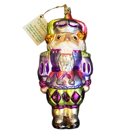 Inge-Glas Happy Harlequin Nutcracker Ornament 901-776-01 Inge-Glas