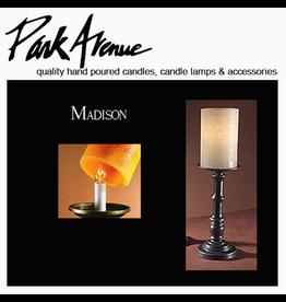 Park Avenue Candles Lamps Bases   Madison 13.5H