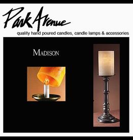 Park Avenue Candles Lamp Bases   Madison 15.5H