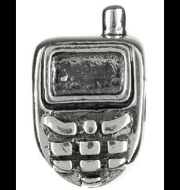Chamilia Charm Cell Phone Sterling Silver Bead GA-72 Chamilia