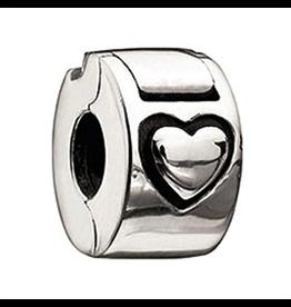 Chamilia Lock Sterling Silver MB-2 Heart