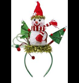 Mark Roberts Christmas Decorations Christmas Hat Headband w Snowman