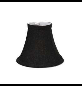 Darice Lamp Shade Clip On Light Bulb Black 5 inch Black Texture
