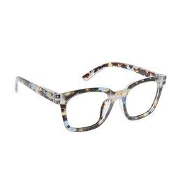 Peepers Reading Glasses To The Max  Blue Light Blue Quartz +1.75