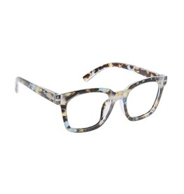 Peepers Reading Glasses To The Max  Blue Light Blue Quartz +2.25