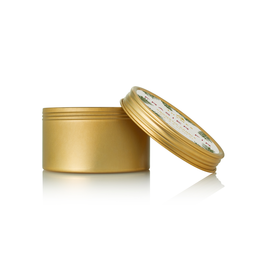 Thymes Frasier Fir Candles Travel Tin 2.5oz Gold