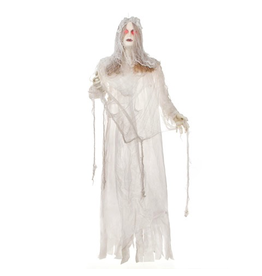 Darice Hanging Bride Zombie 63 inch Halloween Decorations Decor