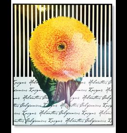 Portal Sunflower With Stripes 8x10 Wood Back - FLOOR SAMPLE