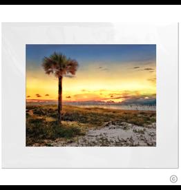 Maureen Terrien Photography Art Print Amelia Island Sunset 11x14 - 16x20 Matted