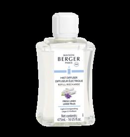 Maison Berger Mist Diffuser Fragrance 475ml Refill Fresh Linen
