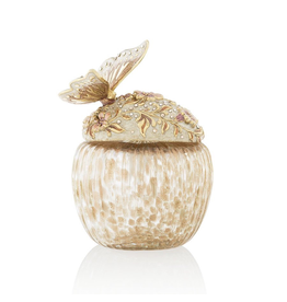 Jay Strongwater Decorative Perfume Bottle Greta Butterfly and Floral