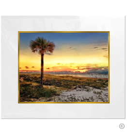Maureen Terrien Photography Art Print Amelia Island Sunset 8x10 - 11x14 Matted