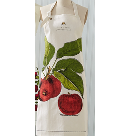 Twos Company Farm to Table Apron with Pie Tin -A Apple Pie