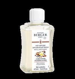 Maison Berger Mist Diffuser Fragrance 475ml Refill Amber Powder