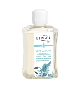 Maison Berger Mist Diffuser Fragrance 475ml Refill Aroma Happy Aquatic Freshness