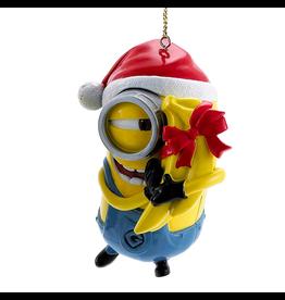 Kurt Adler Despicable ME Minion Carl With Bananas Christmas Ornament
