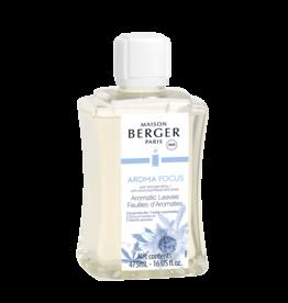 Maison Berger Mist Diffuser Fragrance 475ml Refill Aroma Focus Aromatic Leaves