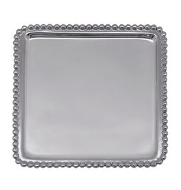 Mariposa Napkin Tray 3902 Beaded Cocktail Napkin Tray
