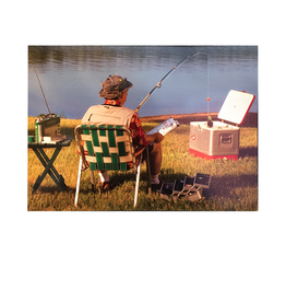 Avanti Fathers Day Card Dad Fishing Soda Out Of Cooler