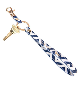 Scout Bags Keychain Key Ring - Bid Day Blue