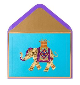 PAPYRUS® Birthday Card Majestic Elephant With Gift
