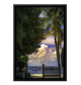 Charles W Gallery Wrapped Canvas Wall Art Print 036 Beach Entrance