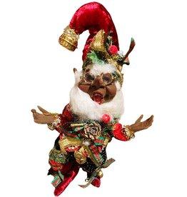 Mark Roberts Fairies Elves Black American Caroling Elf SM 10 Inch
