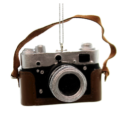 Kurt Adler Classic Camera Ornament