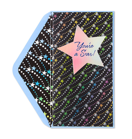 PAPYRUS® Graduation Card Money Enclosure You-re A Star