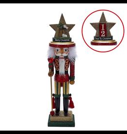 Kurt Adler Christmas Nutcracker Hollywood w Nativity-Days to Christmas Hat 18H
