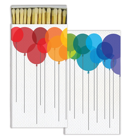 HomArt California Design House Decorative Match Box Party Balloons