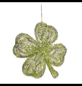 Darice Irish St Patricks Moss Shamrock Clover Wall Decor 14x16