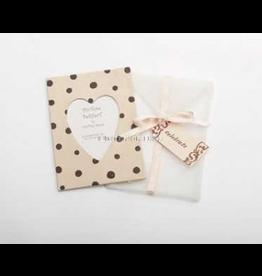 Photo Frame Greeting Card Celebrate - Pink Chocolate Dot