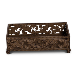 Acanthus Guest Metal Towel Holder 9L Inch