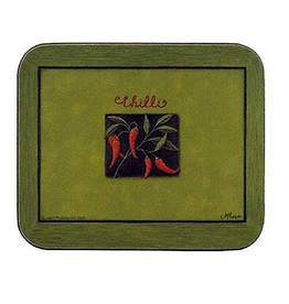 Jason Chilli Verde Hardboard Lunch Placemats SM 11.5x8.5