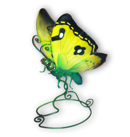 Department 56 Butterfly Votive Holder 9x6 inch