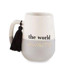 Mud Pie Grad Tassel Mug For Graduates The World Awaits