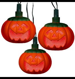 Kurt Adler Halloween Pumpkins 10 Light Set LED String Light Set