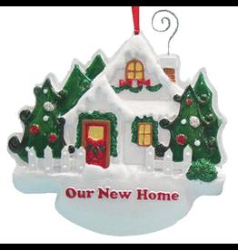 Kurt Adler Christmas Ornament New Home Our New Home Ornament