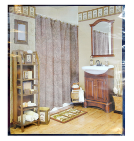 Blonder Home Accents Shower Curtain Passport XPORT008F by Blonder Home