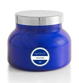 capri BLUE Volcano Candle Blue Signature Jar 19 Oz