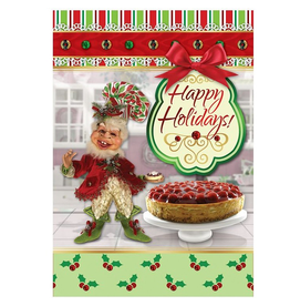 Mark Roberts Christmas Decorations Boxed Cards Sweet Nothings Elf 8PK