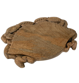 Gallerie II Crab Carved Wood Cutting Board 16x10 inch SER70488 by Gallerie II