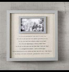 Mud Pie Grandparents Frame With Sentimental Poem